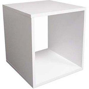 Nicho cubo Quadrado 30x30x30 Cm-100%mdf 15mm Branco