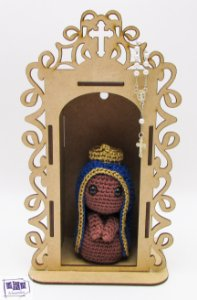 Nossa Senhora Aparecida com oratório