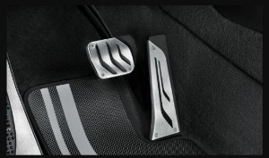 Capa para pedais em aço inoxidável - X5