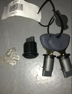 Kit Chaves Porta Bagagem Moto Bmw R1200 F650