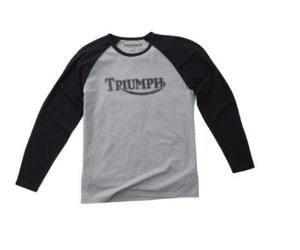 Camisa Triumph - Manga longa - Cinza