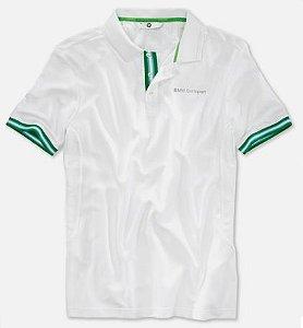 Camisa polo Masculina Branca BMW Golfsport
