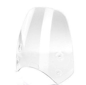 Parabrisa Alto Transparente + suporte - Bonneville T100, T120 e Street Twin