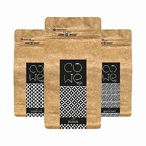 Kit Cowe - 3 tipos de Cafés