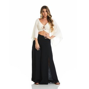 Cropped Los Angeles Branco
