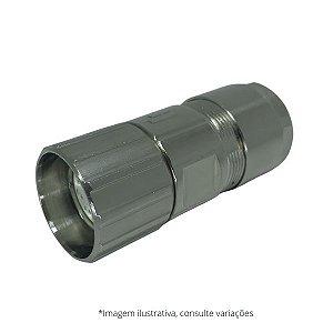 Conector Conin 12 pinos M23 femea (sentido anti-horário)