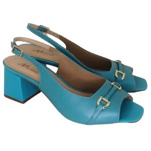 Sandália Azul Turquesa