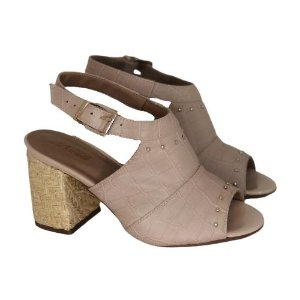 Sandal Boot Croco Bege
