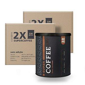 Pack 2x - SuperCoffee Chocolate 220G