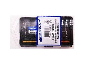 Memória de Notebook DDR4 - 16GB/2666MHZ - 21300MB/S 1.2V