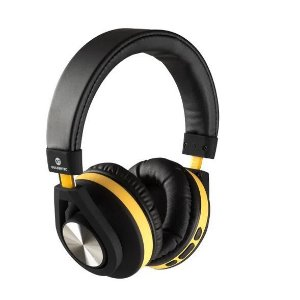 Headphone Bluetooth - GT Follow - Goldentec  - Amarelo (GT5BTAM)