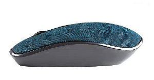 Mouse Sem Fio - 1200DPI - Goldentec GTMO1 - em Tecido Azul
