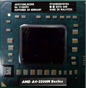 Processador Notebook Amd A4-3300m Serie 2.1ghz Am3310hlx23gx