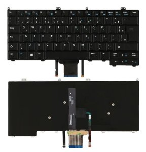 Teclado Dell Latitude E7240 E7420 E7440 Backlit Com Ps E Led