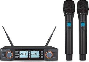 K492M Kadosh - Sistema Duplo UHF de Microfones sem Fio