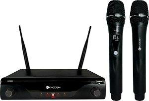 K412M Kadosh - Sistema Duplo UHF de Microfones sem Fio