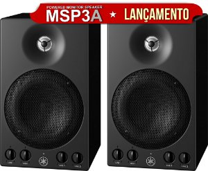 Monitor de Referência Yamaha MSP3A  (PAR)