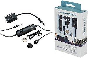 Microfone Condensador de Lapela Audio-Technica ATR3350 - Original