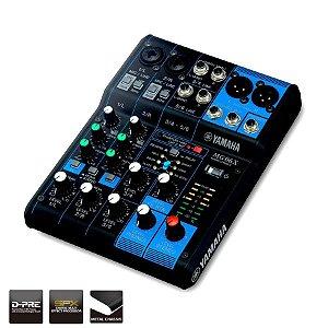 Mesa de Som de 6 canais com Efeitos Yamaha MG06X