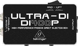 Direct Box Passivo DI400P Ultra - Behringer