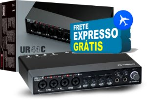 Interface de Audio UR44C - Steinberg