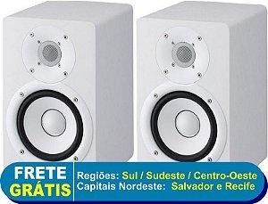 Monitores de Referencia Caixa HS5 Branco (Par) 110V - Yamaha