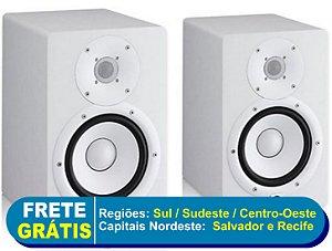 Monitores de Referencia Caixa HS7 Branco (Par) 110V - Yamaha