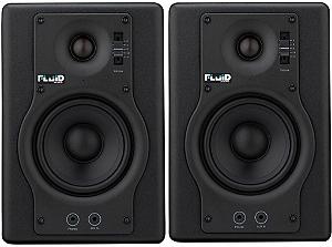 Monitores Caixa F4 (Par) - Fluid Audio