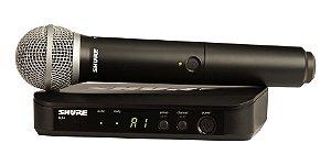 Sistema Microfone sem Fio BLX24BR/SM58