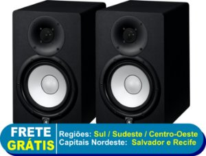 Monitores de Referencia Caixa HS7 Preto (Par) 110V - Yamaha