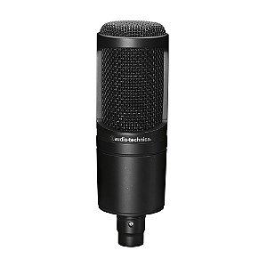 AUDIO-TECHNICA AT2020 - MICROFONE CONDENSADOR CARDIÓIDE