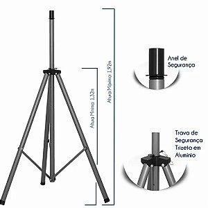 Pedestal de Alumínio para Caixa Acústica  - PCA-AL