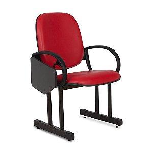 Cadeira para Audítório, Faculdades e Escolas Cor: Vermelho