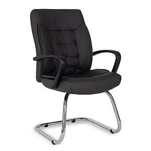 Cadeira para Sala de Reunião de Escritório Gênova Preto