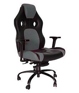 Cadeira Gamer para Escritório Linha Gamer Racing Cinza