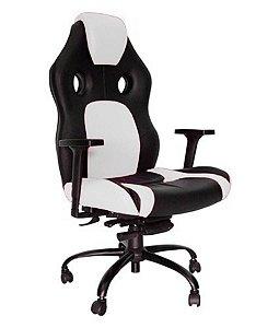 Cadeira Gamer para Escritório Linha Gamer Racing Branco