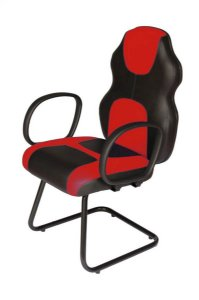 Cadeira Gamer Interlocutor Linha Gamer Racing Vermelho