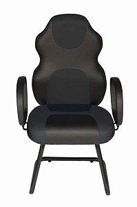 Cadeira Gamer Interlocutor Linha Gamer Racing Preto