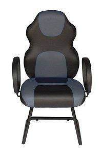 Cadeira Gamer Interlocutor Linha Gamer Racing Cinza