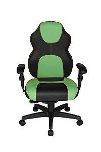 Cadeira Gamer Diretor Linha Gamer Racing Verde