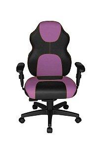 Cadeira Gamer Diretor Linha Gamer Racing Roxo