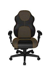 Cadeira Gamer Diretor Linha Gamer Racing Marrom
