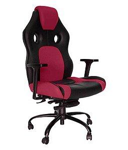 Cadeira Gamer para Escritório Linha Gamer Racing Rosa