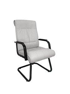 Cadeira Interlocutor para Escritório Linha Itália Branco