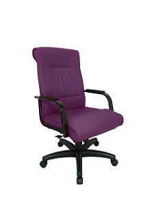 Cadeira Diretor para Escritório Linha Itália Roxo