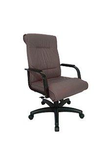 Cadeira Diretor para Escritório Linha Itália Marrom