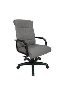 Cadeira Diretor para Escritório Linha Itália Cinza