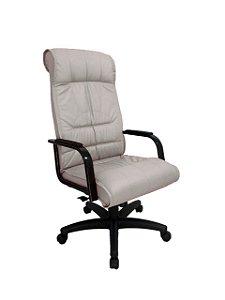 Cadeira Presidente para Escritório Linha Itália Cinza
