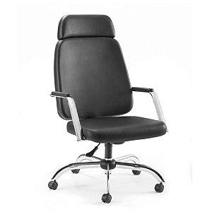 Cadeira para Escritório para Obesos até 200kg Preto