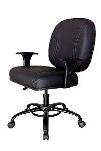 Cadeira para Obesos até 200 kg Linha Fat Preto